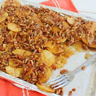 When Squares Turn to Rounds(Recipe: Pecan Pie Nachos)