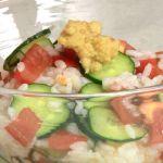 みんなの家庭の医学 冷やしご飯で便秘解消!奥薗レシピ『もずくトマトご飯』の作り方!