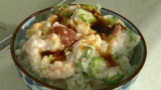 みんなの家庭の医学 冷やしご飯で便秘解消!奥薗レシピ『オクラとろろご飯』の作り方!