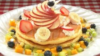 ナイナイアンサー家呑みレシピ!中丸雄一『ふわふわパンケーキ フルーツアート添え』の作り方!