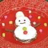 平野レミ『ナッチョコ雪だるま』レシピ【パーティー家族に福きたる】
