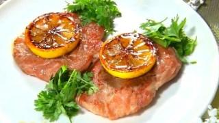 ヒルナンデス!平井正人シェフ レシピ『焼きレモンの豚肉ソテー』【大ヨコヤマクッキング】