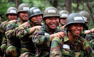 チームワークが欠かせない(写真/韓国陸軍公式サイトより)