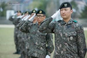軍隊組織は階級がすべて(写真/韓国陸軍公式サイトより)