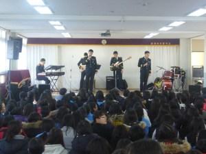 釜山警察広報団の公演風景(写真=釜山地方警察庁の公式サイトより)