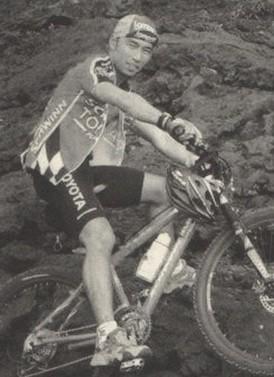 李秀賢さんはマウンテンバイクが大好きだった