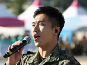 今年の地上軍フェスティバルで大活躍だったイ・スンギ
