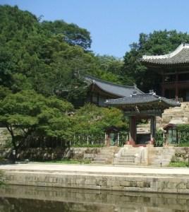 昌徳宮(チャンドックン)に住んでいた孝明世子は奥の後苑(フウォン)を愛していた