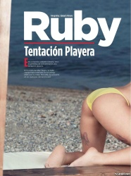 abmVjiBU Playboy Venezuela April 2013