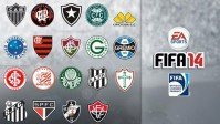 FIFA 14 - 収録ブラジルクラブ