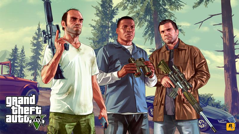 Grand Theft Auto V (GTA V, グランド・セフト・オートV)