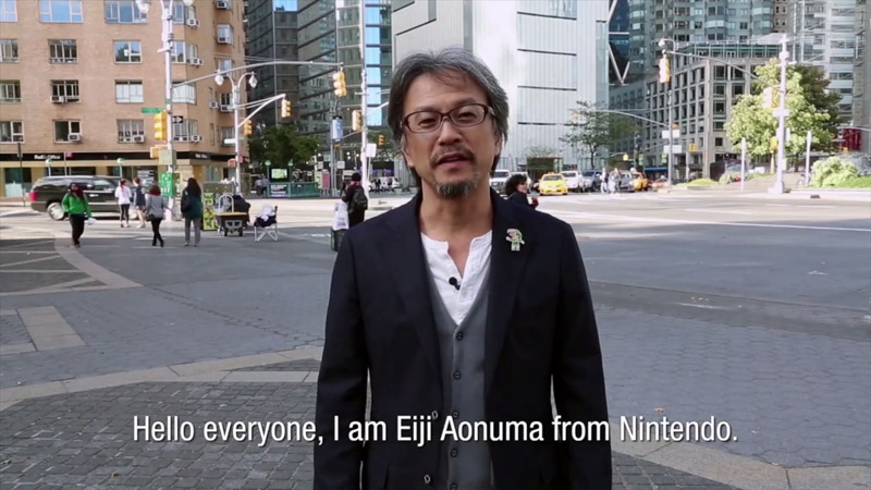 Zelda: A Link between Worlds The Running in NY