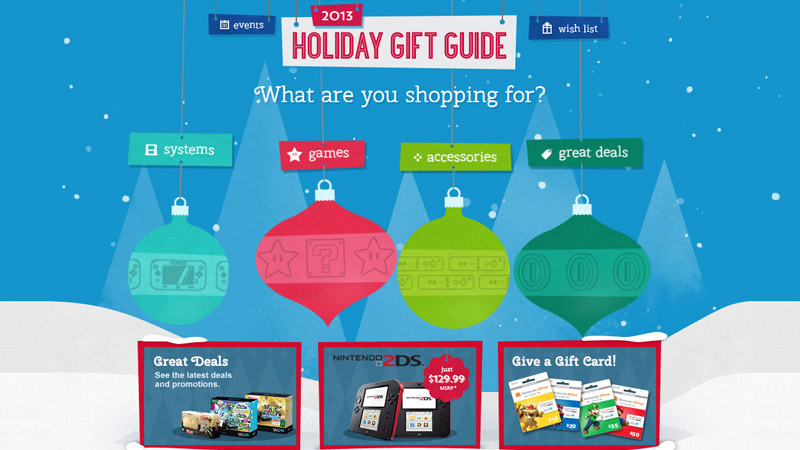 Nintendos Official Holiday GiftGuide 2013