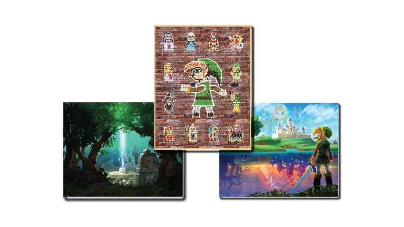The Legend of Zelda: A Link Between Worlds - Posters