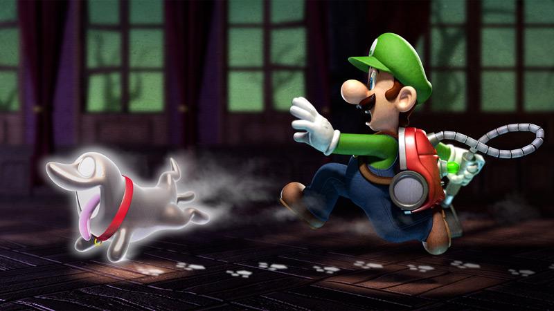 ルイージマンション2(Luigi's Mansion: Dark Moon)
