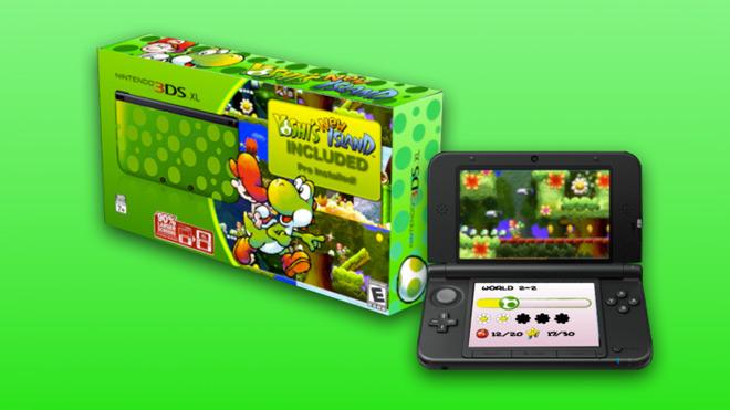 Yoshi Limited Edition 3DS XL Bundle