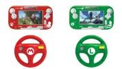 Wii U『マリオカート8』デザインのハンドルとGamePad保護カバー、HORIから発売