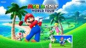 3DS『マリオゴルフ ワールドツアー』、公式サイトがオープン。有料追加コンテンツの配信や「キャロウェイゴルフ」とのコラボ大会も予定