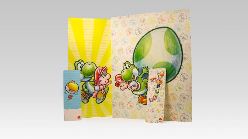 Yoshi Folder & Bookmark Set
