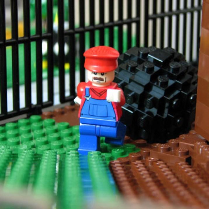 LEGO スーパーマリオ64 - コース1「ボムへいのせんじょう」