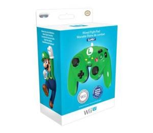 Wii U Fight Pad Controller - Luigi