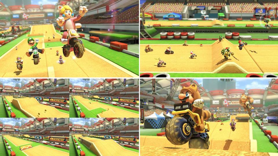 マリオカート8 DLC - Excitebike Arena