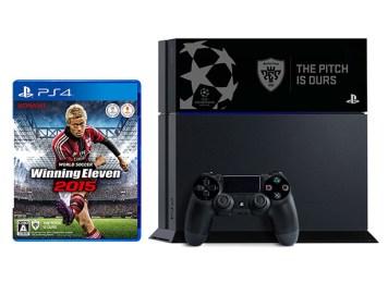 PlayStation4 ワールドサッカー ウイニングイレブン 2015 UEFA CHAMPIONS LEAGUE EDITION - ジェット・ブラック