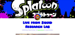 Splatoon - Tumblr: Live from Squid Research Lab