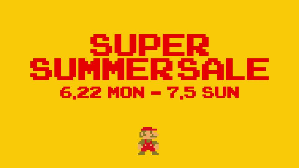 タワーレコード × スーパーマリオブラザーズ - SUPER SUMMER SALE 2015