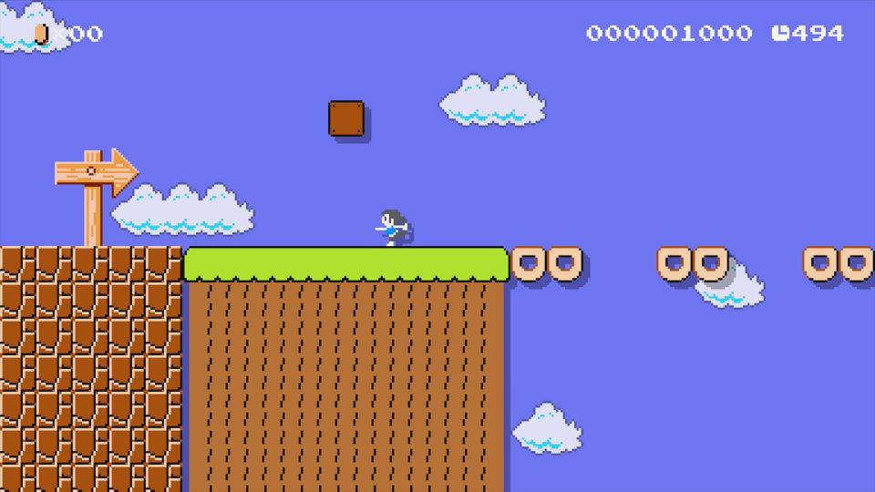 スーパーマリオメーカー - Wii Fit トレーナー
