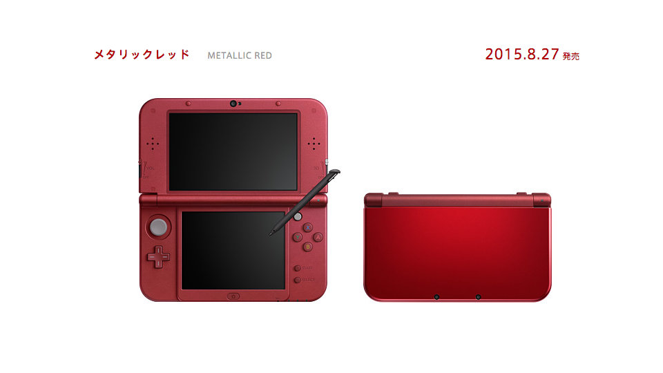New Nintendo 3DS LL - Metallic Red