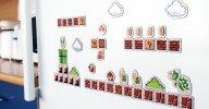 WiiU『スーパーマリオメーカー』、スペインでは予約特典にドットキャラのマグネットセット