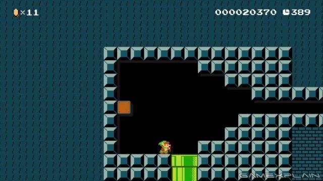 Super Mario Maker - The Legend of Zelda: Level 1