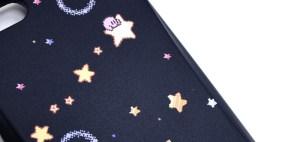 干渉防止シート付 カード収納カスタムカバー iPhone 6s/6 星のカービィ