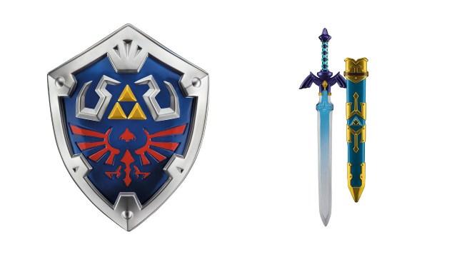 任天堂公式ライセンス:マスターソード&ハイリアの盾 レプリカ(ゼルダの伝説 スカイウォードソード)