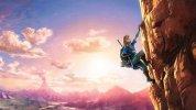 冒険の舞台やリンクの新アクションを示唆する『ゼルダの伝説 最新作』の新たなアートワーク
