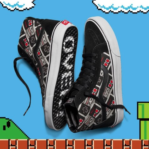 VANS×NINTENDO COLLECTION - SK8-HI REISSUE