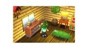 3DS『とびだせ どうぶつの森』、5月の配信プレゼントは「はっぱベッド」と「おうごんのとけい」