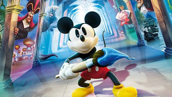 3DS Epic Mickey: Power of Illusion