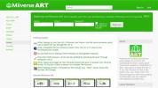 「Miiverse Art」、Miiverseで描いた絵を共有するオンラインコミュニティ