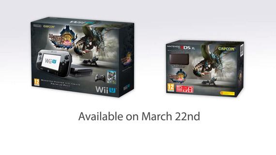 Monster Hunter 3 Ultimate Wii U/3DS Bundle Pack