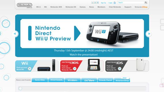 Nintendo Direct Wii U Preview nintendo.com.au