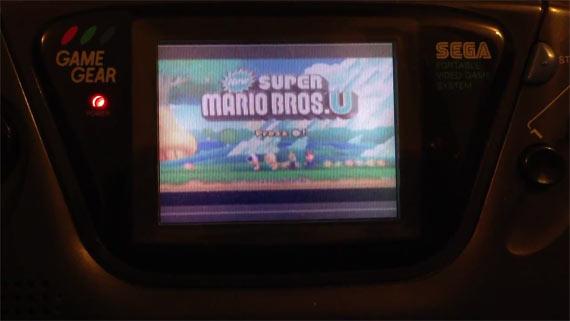 Nintendo Wii U on Sega Game Gear