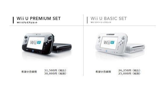 Wii U PREMIUM SET / Wii U BASIC SET