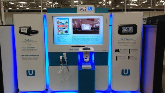Wii U Kiosks NA