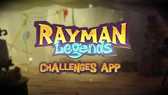 Rayman Legends - Chalenges App