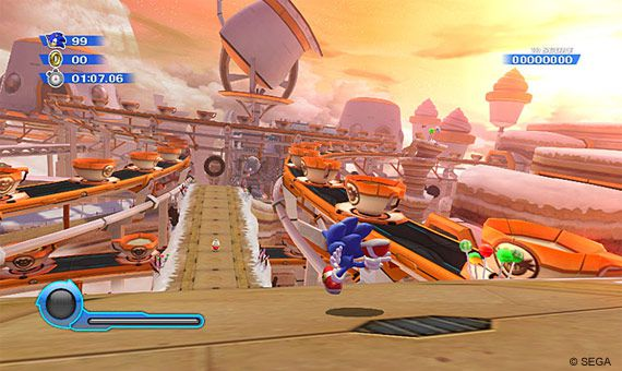 Sonic Colors - Sweet Mountain