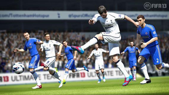 FIFA 13 Tottenham Hotspur FC Bale