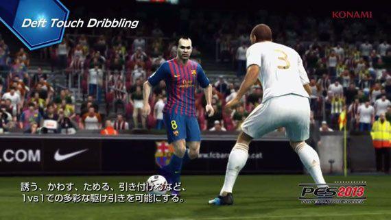 E3 2012: PES 2013(ウイニングイレブン2013) PlayerID ProActive AI Gameplay Video 日本語字幕版