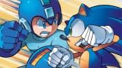 セガの『ソニック』とカプコンの『ロックマン』、クロスオーバーコミック『Sonic the Hedgehog/Mega Man: Worlds Collide』で共演
